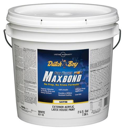 Dutch boy dura weather maxbond white satin exterior - Dutch boy maxbond exterior paint ...