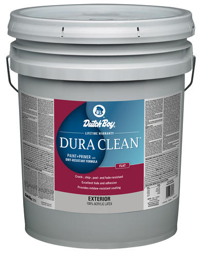 Dutch Boy Dura Clean Exterior 100 Acrylic Paint Primer With Dirt Resistant Formula Ultra