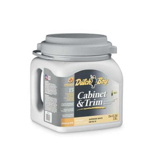 Dutch Boy Cabinet And Trim Ultra White Interior Acrylic Latex Paint 1 Gal At Menards