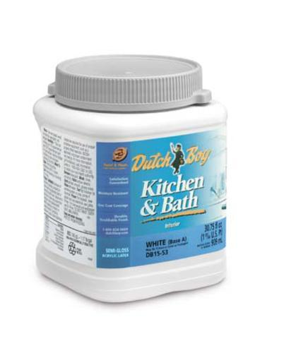 dutch boy kitchen and bath base d semi gloss interior