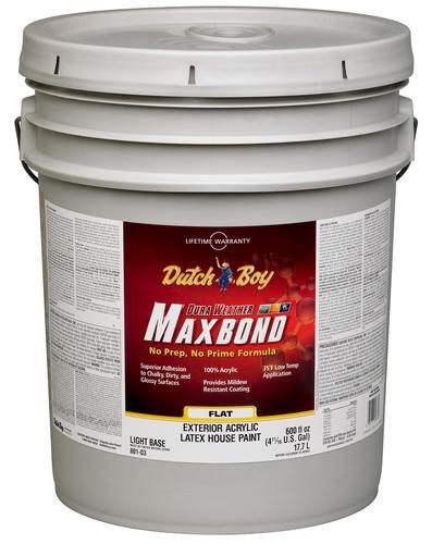 Dutch boy dura weather maxbond light base exterior - Dutch boy maxbond exterior paint ...