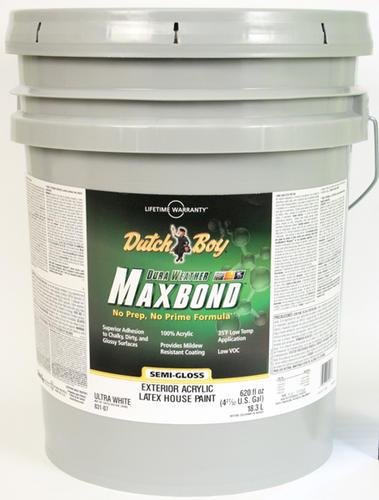 Dutch boy dura weather maxbond ultra white exterior - Dutch boy maxbond exterior paint ...