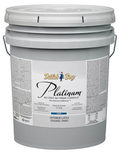 dutch boy platinum ultra white interior latex paint 5. Black Bedroom Furniture Sets. Home Design Ideas