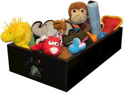 Dynamic Accents, LTD.™ Black Small Pet Toy Box