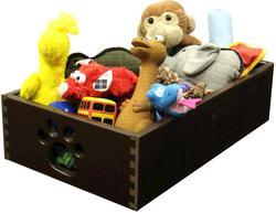 Dynamic Accents, LTD.™ Mahogany Small Pet Toy Box