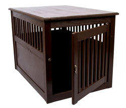 Dynamic Accents, LTD.™ Large Mahogany End Table Pet Crate
