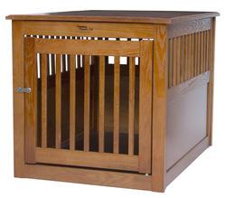 Dynamic Accents, LTD.™ Large Artisan Bronze End Table Pet Crate