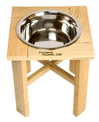 "12"" Tall Legacy Series Outdoor Single Bowl Elevated Feeder"