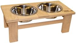 "6"" Tall Legacy Series Outdoor Single Bowl Elevated Feeder"