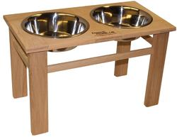 """12"""" Tall Legacy Series Outdoor Single Bowl Elevated Feeder"""