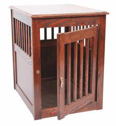 Dynamic Accents, LTD.™ Medium Mahogany Oak End Table Pet Crate