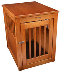 Dynamic Accents, LTD.™ Medium Burnished Oak End Table Pet Crate