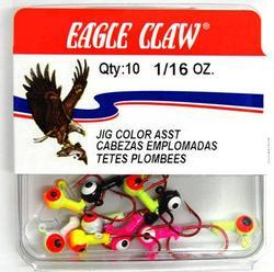 Eagle Claw 1/8 oz. Jighead Assortment