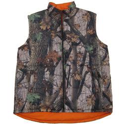 Camo / Blaze Orange Vest