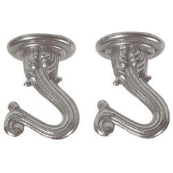 Patriot Lighting Brushed Pewter Swag Hooks (2-Pack)
