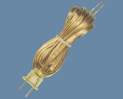 Patriot Lighting 8' Gold Lamp Repair Cord