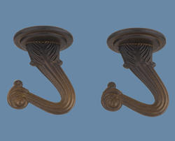 Patriot Lighting Oil-Rubbed Bronze Finish Swag Hook Kit (2-Pack)