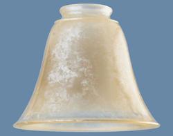 "Patriot Lighting 2-1/4"" Fitter Antique Liminosity Glass"
