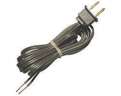 Patriot Lighting 8' Brown Finish Cord Set with Plug