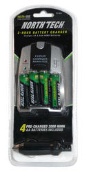 North Tech® 2-Hour Battery Charger
