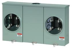 Eaton 200 Amp 600 VAC Outdoor 2-Position Meter Socket