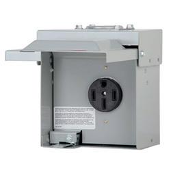 Eaton 50 Amp 120/240 VAC Outdoor RV Panel