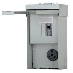 Eaton 30 Amp 120/240 VAC Outdoor RV Panel