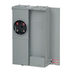 Eaton Type BR 125 Amp 120/240 VAC Outdoor Meter Socket