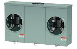 Eaton 200A 600 VAC Outdoor 2-Position Meter Socket