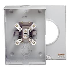 Eaton 200 Amp 600 VAC Outdoor Meter Socket