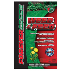 FOREVER GREEN® Weed & Feed - 10,000 sq. ft.