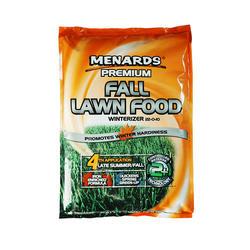 Menards® Premium Fall Lawn Food (Winterizer) - 5,000 sq. ft.