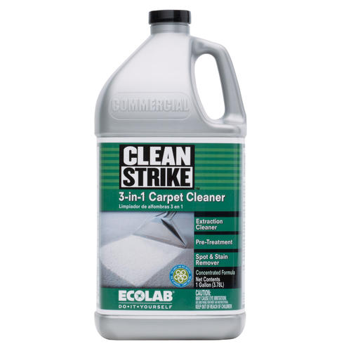 Clean Strike Concentrated 3 in 1 Carpet Cleaner 1 Gal