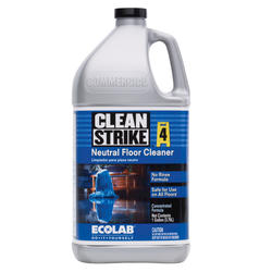 Clean Strike Concentrated Neutral Floor Cleaner - 1 gal.