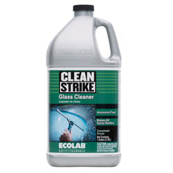 Clean Strike Concentrated Glass Cleaner - 1 gal.