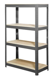 "4-Shelf Steel Shelving Kit -60"" H x 36""W x 16""D"