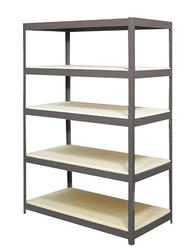 "Edsal 5-Shelf Steel Storage Rack-72""H x 36""W x18""D"