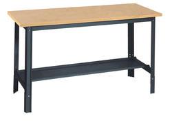 Edsal Economy 4' x 2-1/2' Masonite/Flakeboard Top Workbench