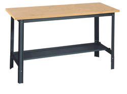 Edsal Economy 6' x 2-1/2' Masonite/Flakeboard Top Workbench