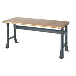 "Edsal Basic 60"" x 30"" x 34"" Flared Leg Shop Top Workbench"