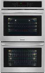 "Frigidaire Gallery® 30"" Electric Built-in Double 4.6 cu. ft. Self-Cleaning Convection Wall Oven"