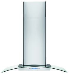 """Frigidaire® 36"""" Stainless Steel and Glass Wall-Mounted Chimney Vent Hood"""