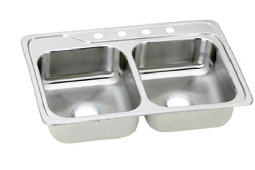 Aristo  X  Double Bowl Topmount Kitchen Sink