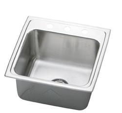 """19-1/2"""" x 19"""" Single Bowl Sink"""