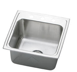 "19-1/2"" x 19"" Single Bowl Sink"