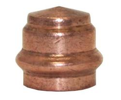"1"" Copper Press Fitting - Tube Cap 5-Pk"
