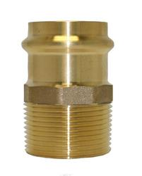 "1"" Copper Press Fitting - Male Adapter 10-Pk"