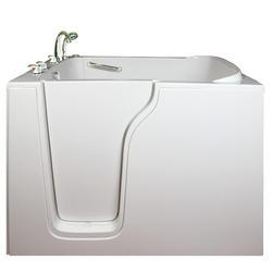 "Ella 35"" x 55"" Bariatric 35 Soaking Walk-In Tub (Left Drain)"