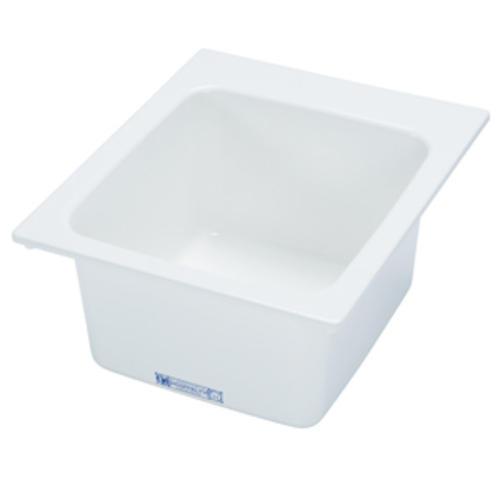 Mustee Sinks : Mustee 17 in. x 20 in. Fiberglass Self-Rimming Utility Sink