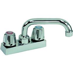 Mustee 4 in. Centerset Brass Faucet